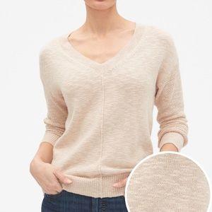 Gap Slub V-Neck Sweater